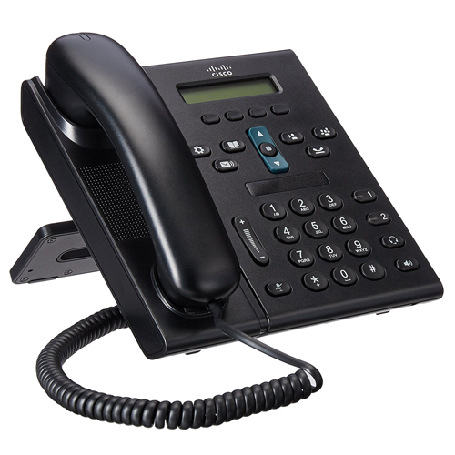 Cisco CP 6921 2-Line Office VoIP Phone