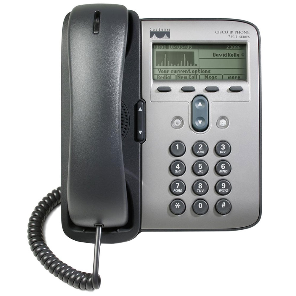 Cisco 7911G 1-Line Refurbished VoIP Phone