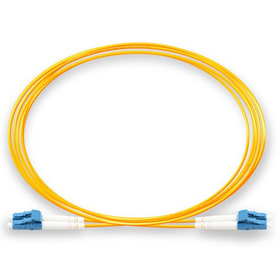 DAD 5M LC UPC - LC UPC 9/125 OS2 Duplex Single-Mode Fiber optic patch cord