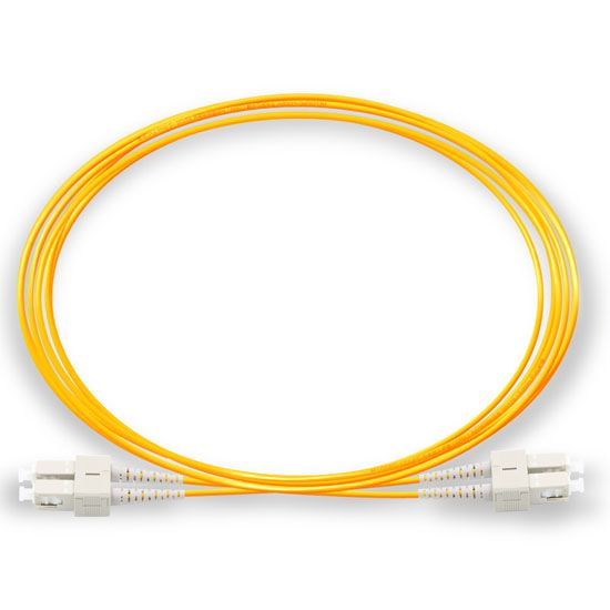 DAD 2M SC UPC - SC UPC 9/125 OS2 Duplex Single-Mode Fiber optic patch cord