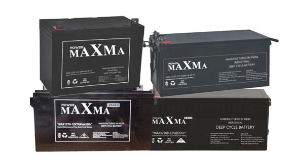 MAXMA DEEP CYCLE Battery 12V 100Ah