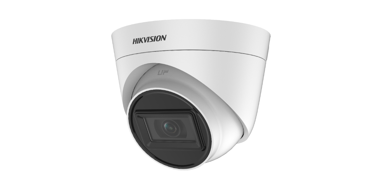 Hikvision (DS-2CE78H0T-IT1F) 5 MP Fixed Turret Camera