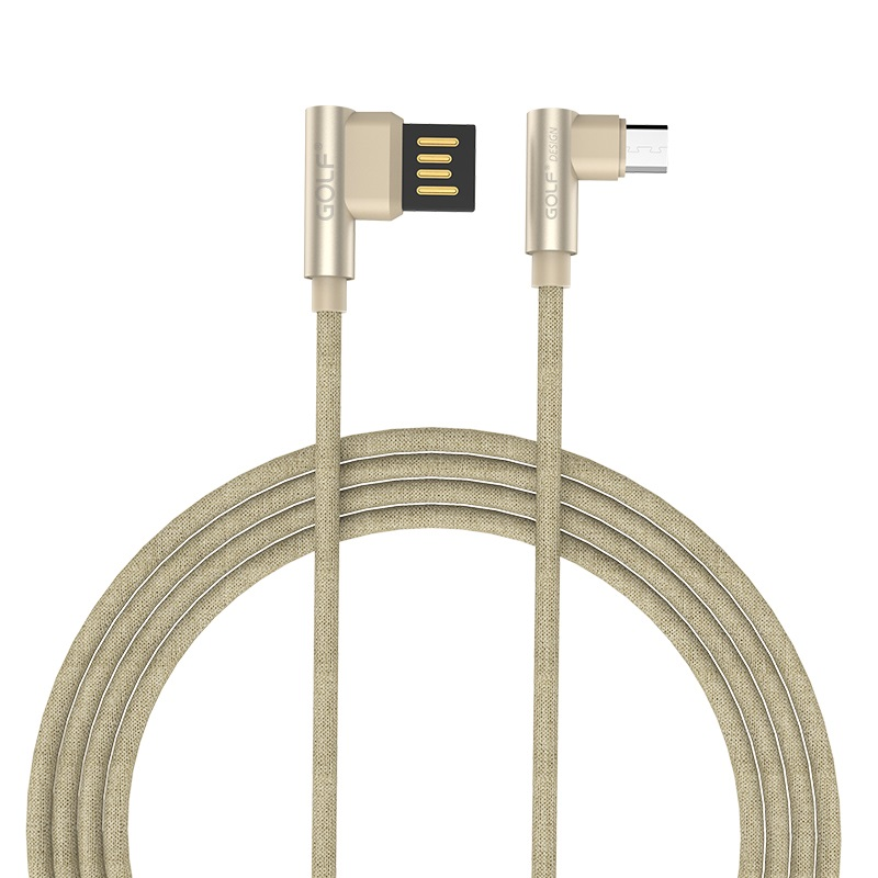 Golf GC-48m Pudding Micro Fast Charging Cable 2.4A For Android
