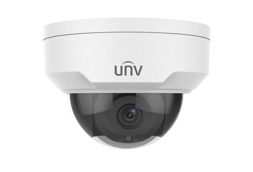 Uniview IPC324ER3-DVPF28 4MP WDR Vandal-resistant Network IR Fixed Dome Camera