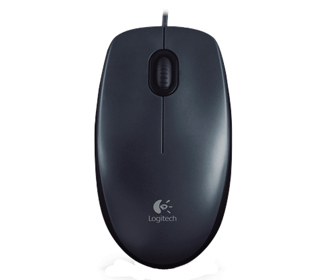 Logitech M90 USB Optical Mouse