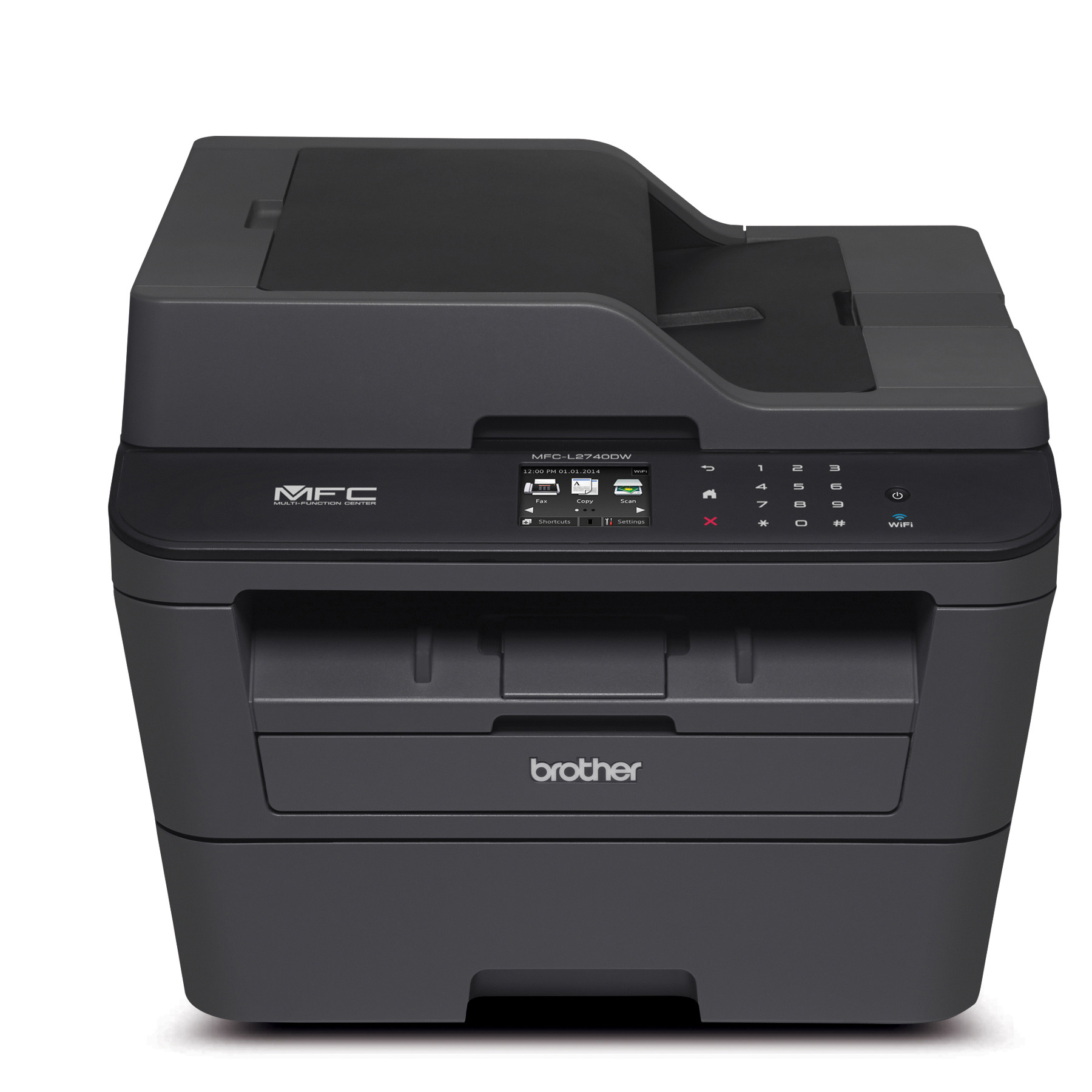 Brother MFC-L2740DW All-in-One Monochrome Laser Printer