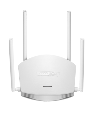 TOTOLINK N600R 600Mbps WiFi Router / Access Point / WiFi Repeater, 4pcs of 5dBi Antennas
