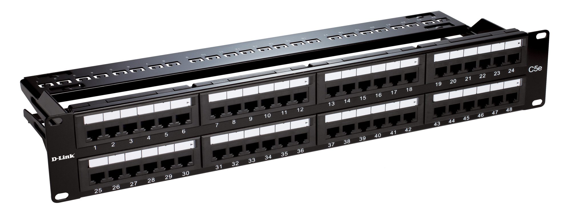 D-Link Unshielded 48-Port Full-Loaded Patch Panel