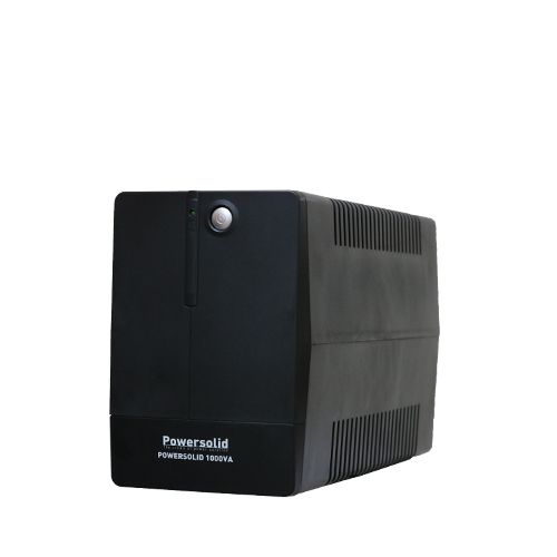 PowerSolid 1000VA Line Interactive Uninterruptible Power Supply