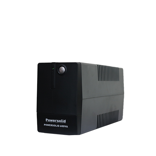 PowerSolid 600VA Line Interactive Uninterruptible Power Supply
