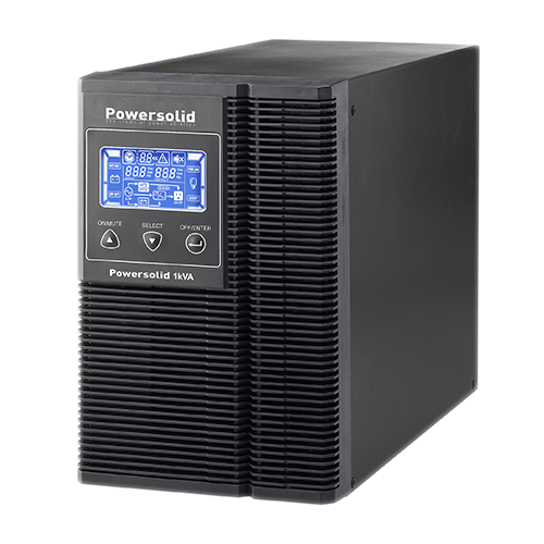 Power Solid 1KVa Single Phase Online UPS