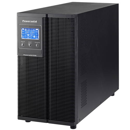 Power Solid 3KVa Single Phase Online UPS