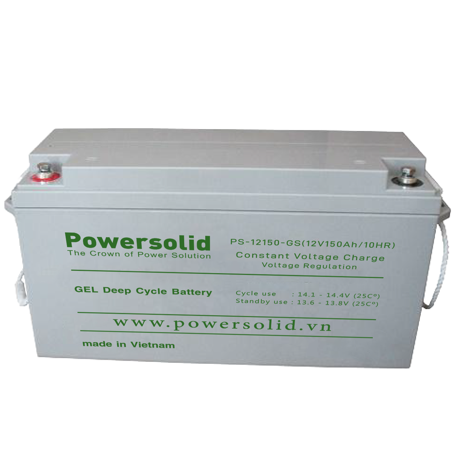 Power Solid PS-121500-GS GEL Deep Cycle Battery 12V 150Ah