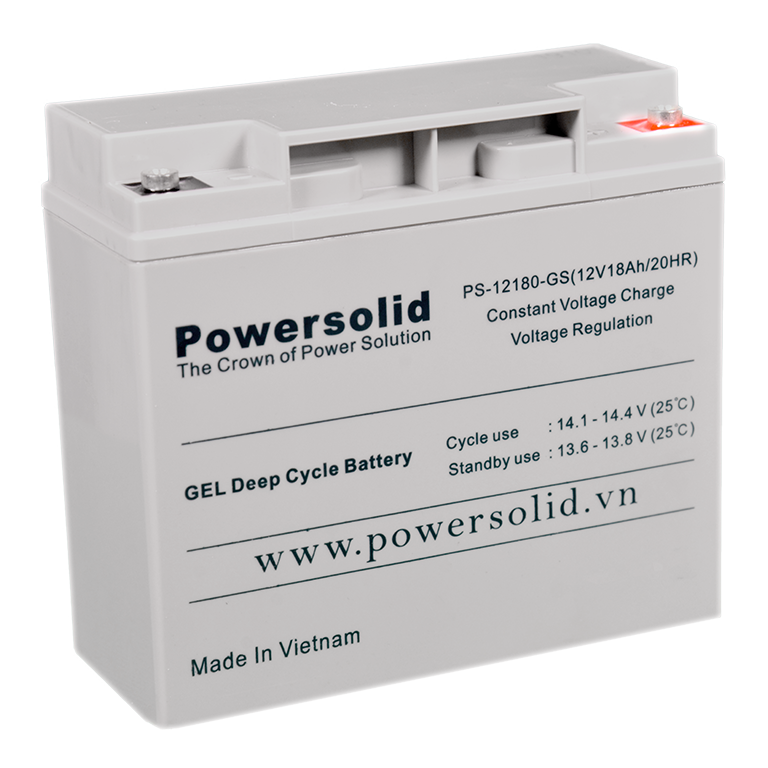 Power Solid PS-12180-GS GEL Deep Cycle Battery 12V 18Ah
