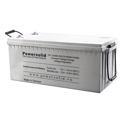 Power Solid PS-122000-GS GEL Deep Cycle Battery 12V 200Ah