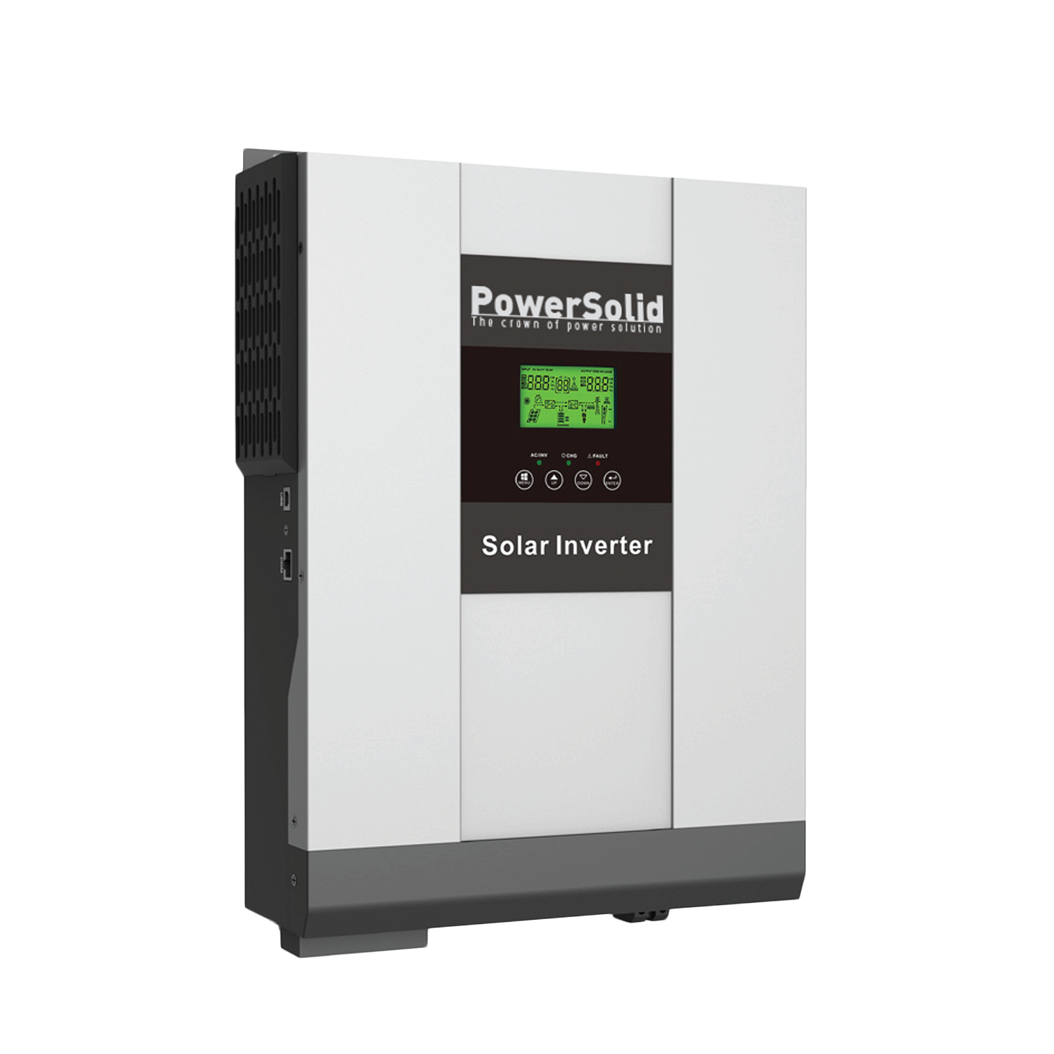 PowerSolid Inverter PSi3000W#24VPVM High Frequency Off Grid Solar Inverter