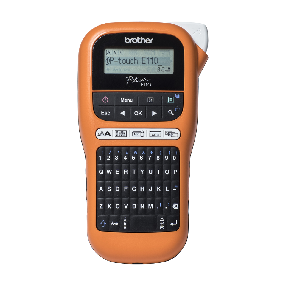 Brother PT-E110VP Handheld Electrician Label Printer