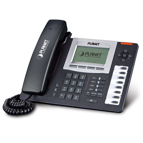 Planet VIP-5060PT Professional HD PoE IP Phone (6-Line)