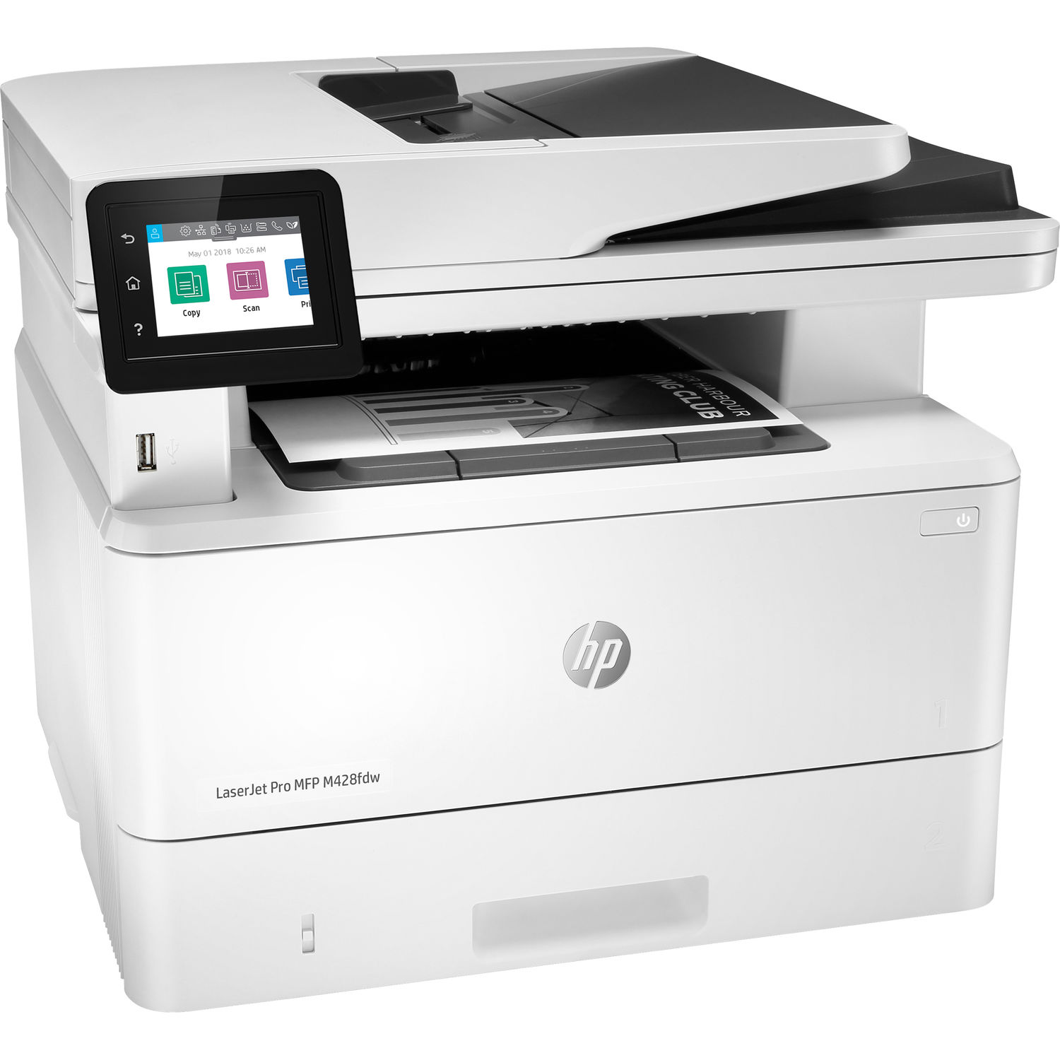HP LaserJet Pro M428fdw All-in-One Monochrome Laser Printer